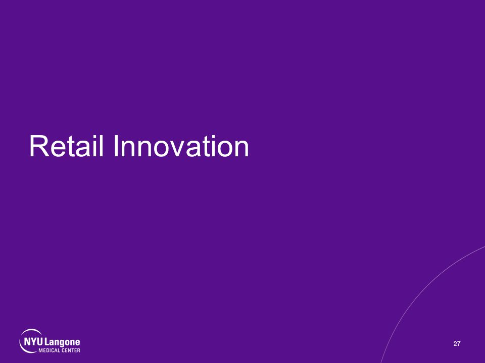 Retail Innovation 27