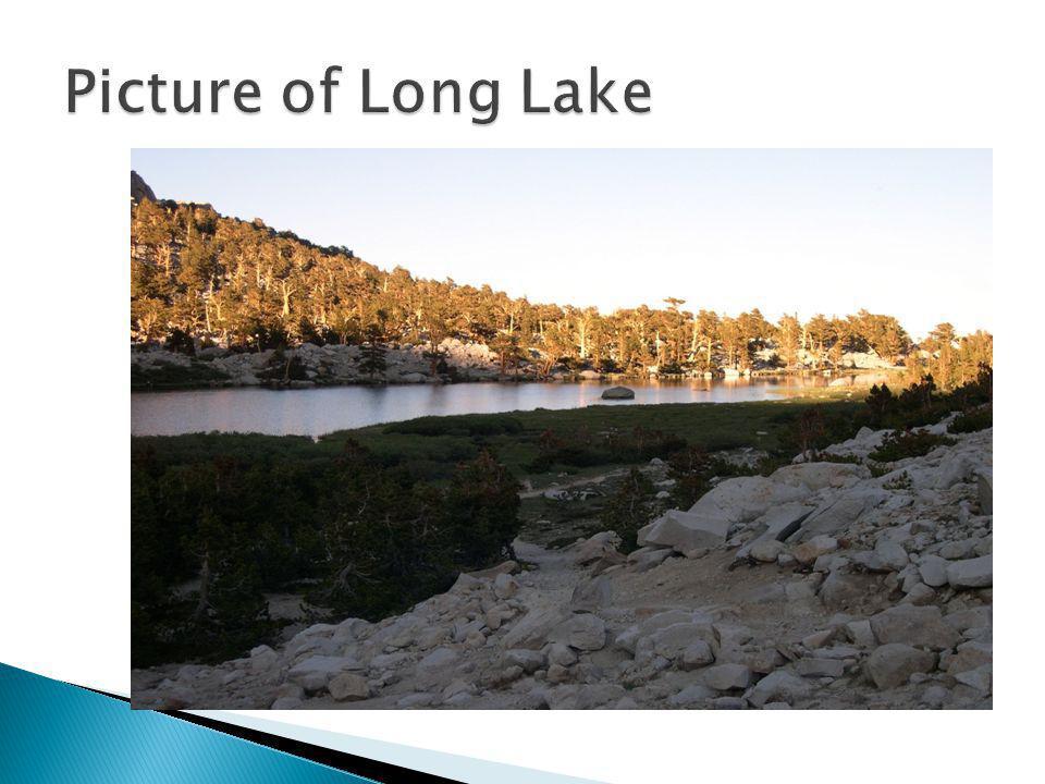 Hike from Long Lake to Rock Creek ranger station.
