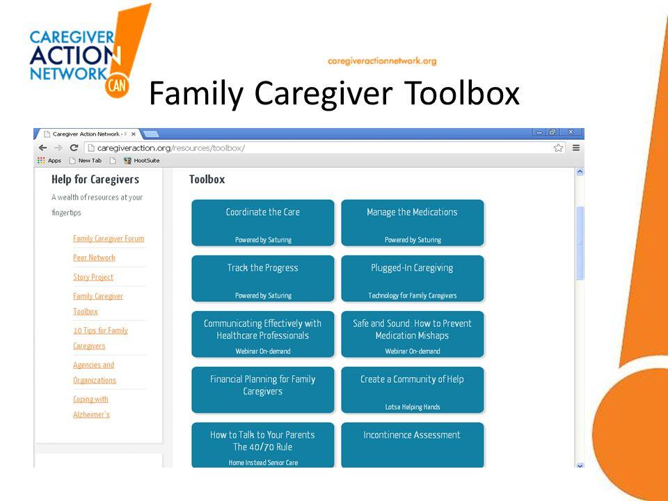 Family Caregiver Toolbox