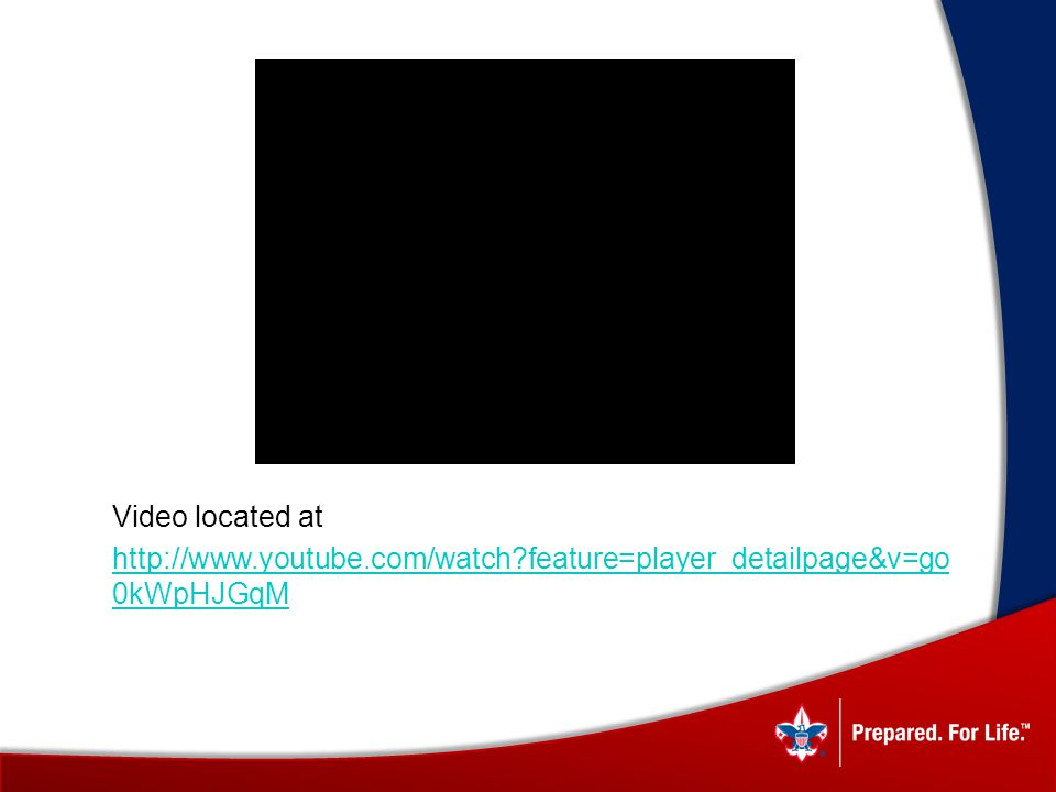 Video located at http://www.youtube.com/watch?feature=player_detailpage&v=go 0kWpHJGqM