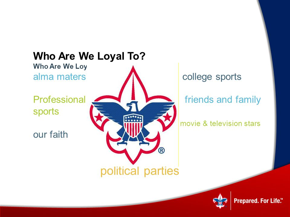 Who Are We Loyal To.