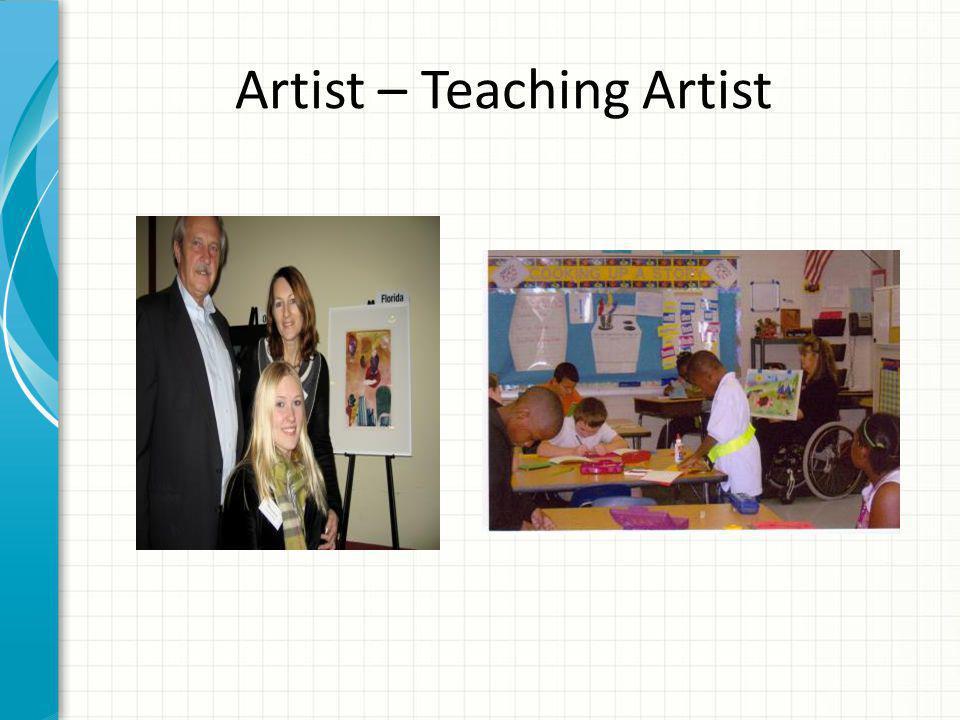 Artist – Teaching Artist