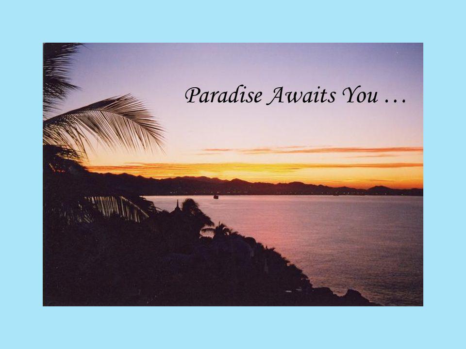 Paradise Awaits You …