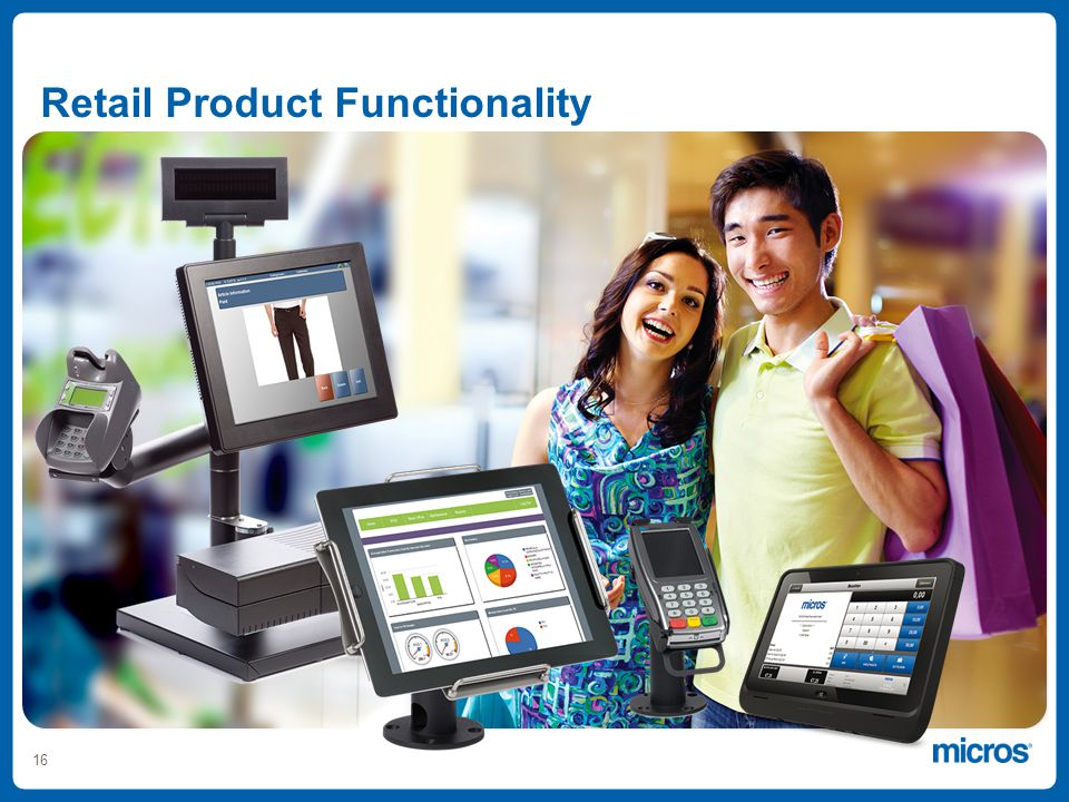 16 Retail Product Functionality
