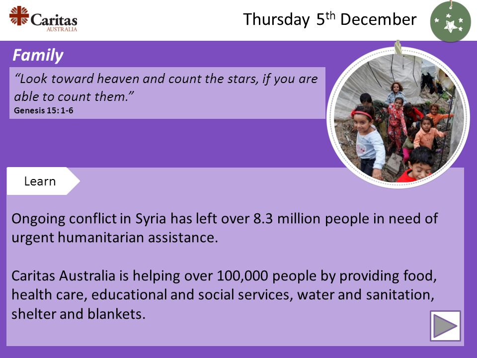 Ongoing conflict in Syria has left over 8.3 million people in need of urgent humanitarian assistance.