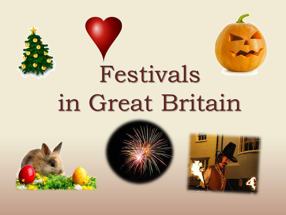 Festivals in Great Britain