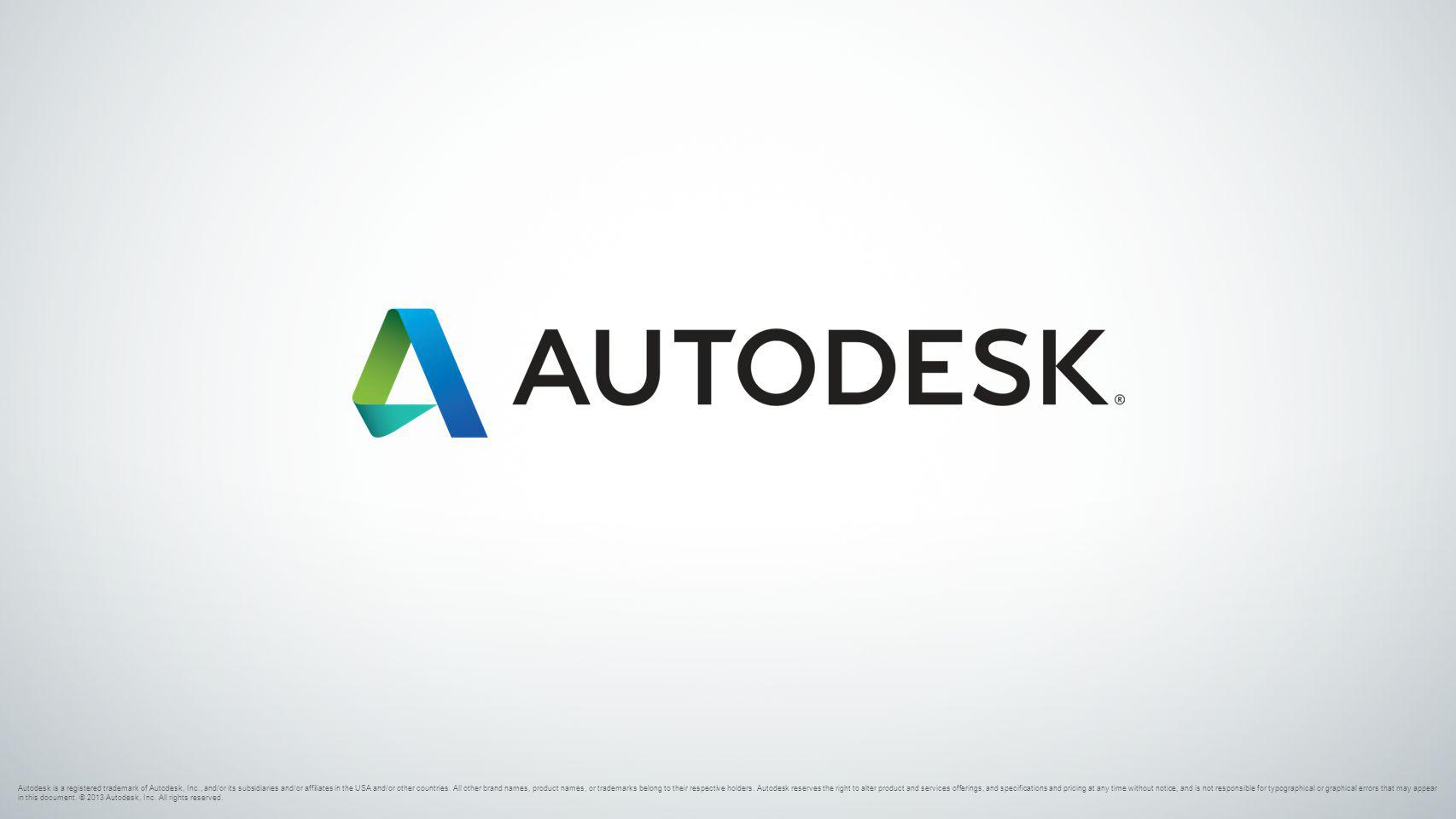 Autodesk is a registered trademark of Autodesk, Inc., and/or its subsidiaries and/or affiliates in the USA and/or other countries. All other brand nam