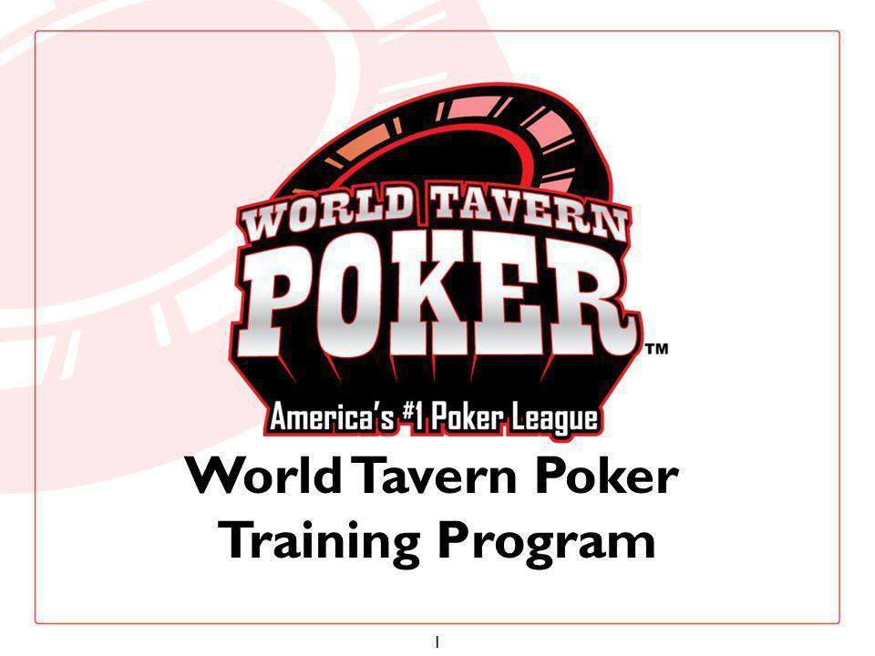 1 World Tavern Poker Training Program