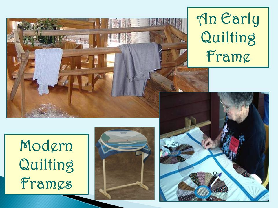 An Early Quilting Frame Modern Quilting Frames