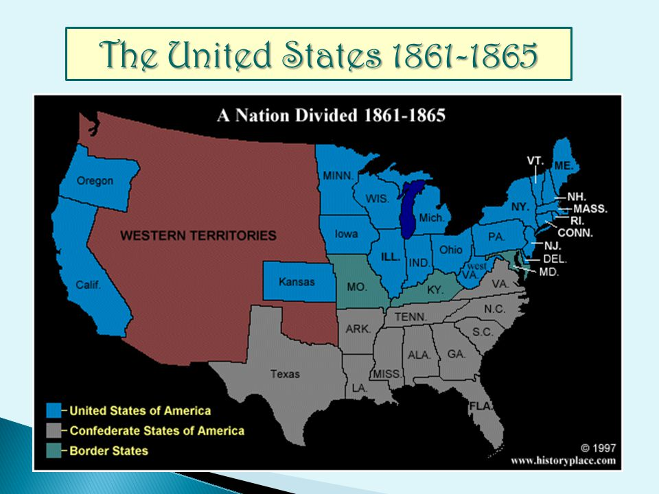 The United States 1861-1865