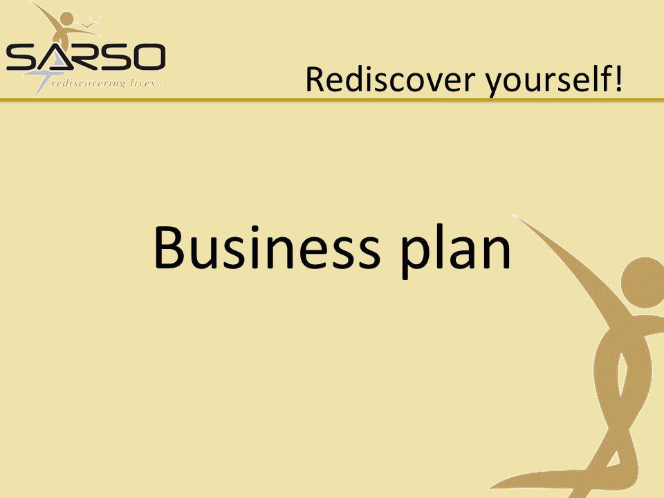 Rediscover yourself! Business plan