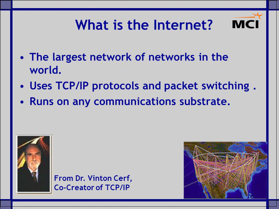 Robert Kahn Summary: Bob Kahn is co-designer of the TCP/IP networking protocol.