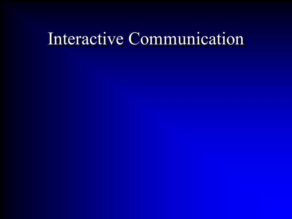 Interactive Communication