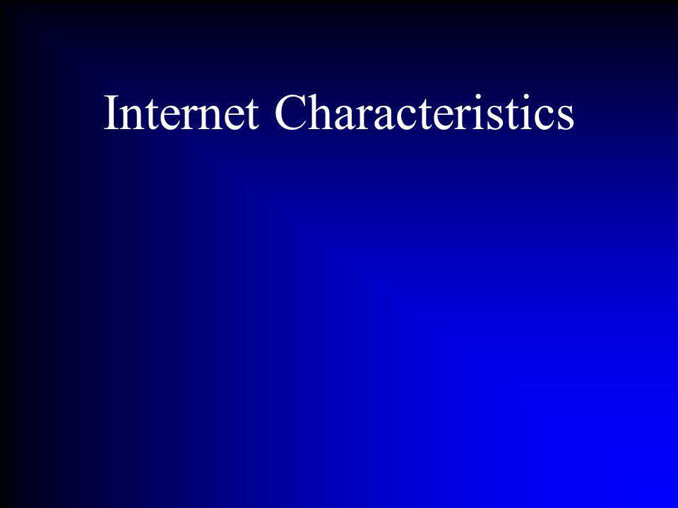 Internet Characteristics