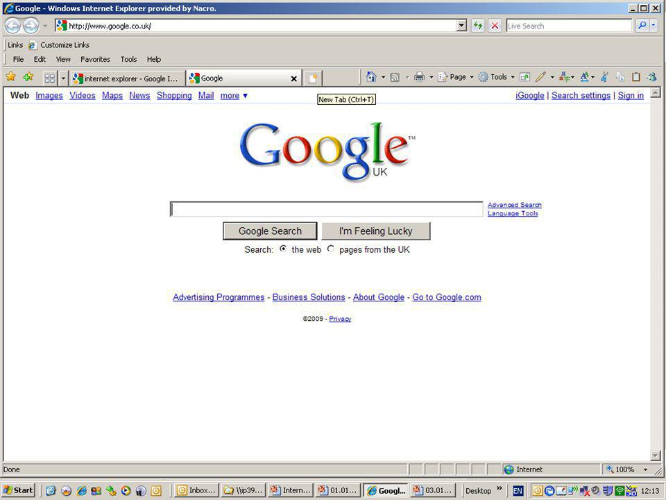 Types of Line Internet and Intranets Browsers
