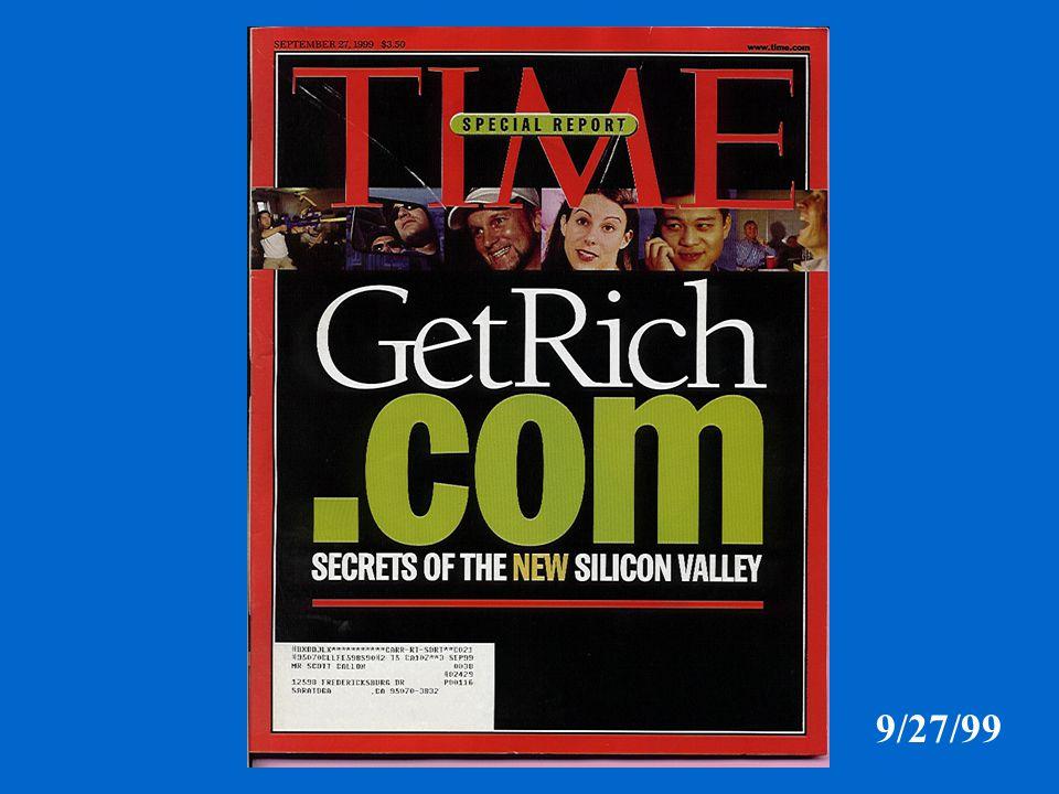 9/27/99 YahooSoftbankPriceline.com Morgan Stanley eBayAmazon.com