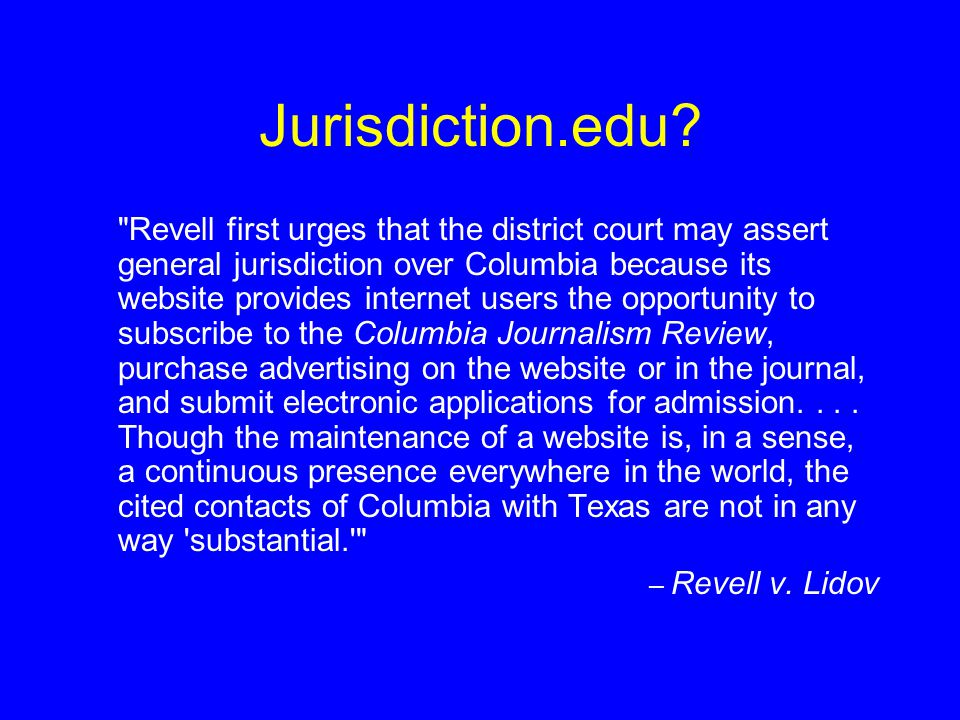Jurisdiction.edu?