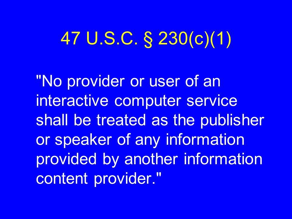 47 U.S.C.