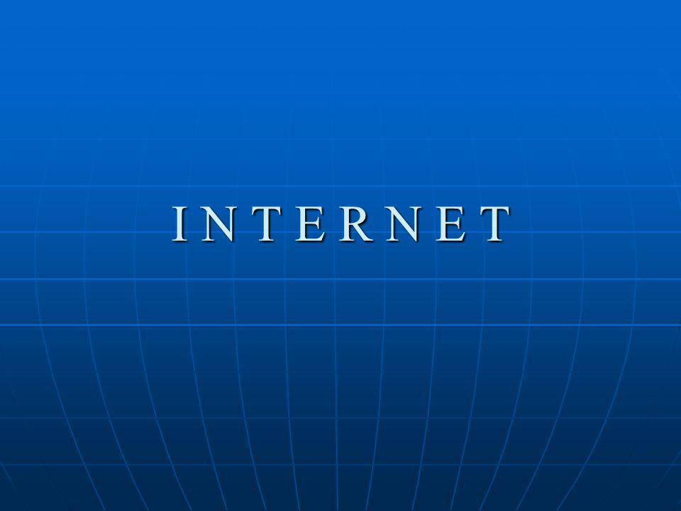 Internet Services Electronic Mail (e-mail) Electronic Mail (e-mail) World Wide Web World Wide Web Telnet Telnet File Transfer Protocol (FTP) File Transfer Protocol (FTP) Internet Telephone Internet Telephone Web TV/Radio Web TV/Radio Internet Relay Chat Internet Relay Chat News Groups News Groups