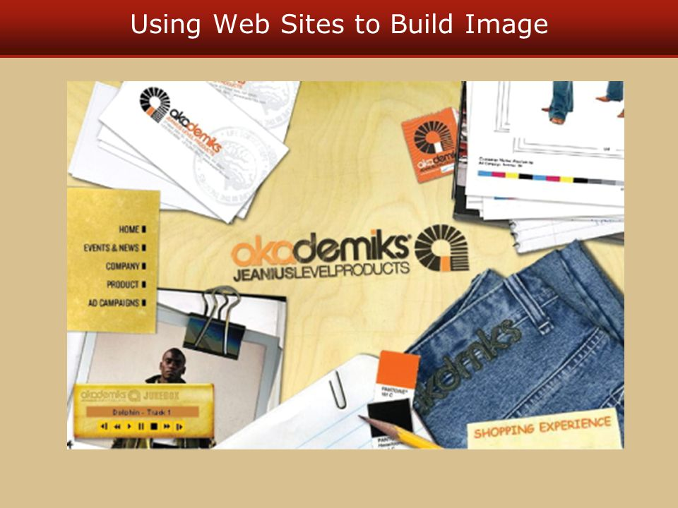 Using Web Sites to Build Image
