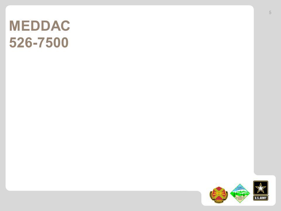 MEDDAC 526-7500 5