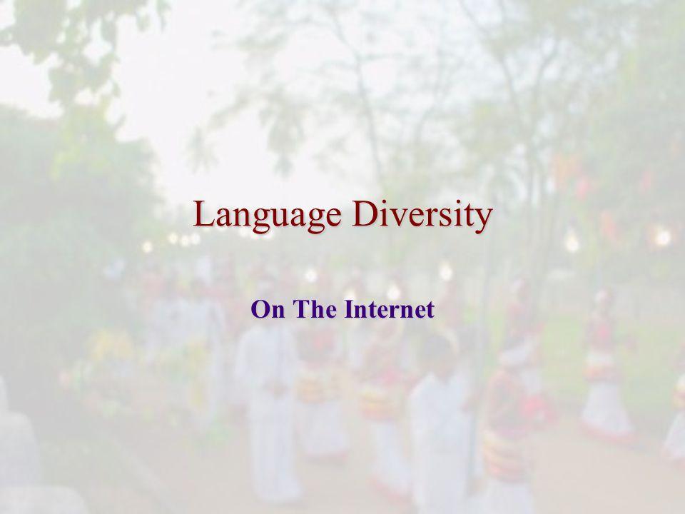 Language Diversity On The Internet