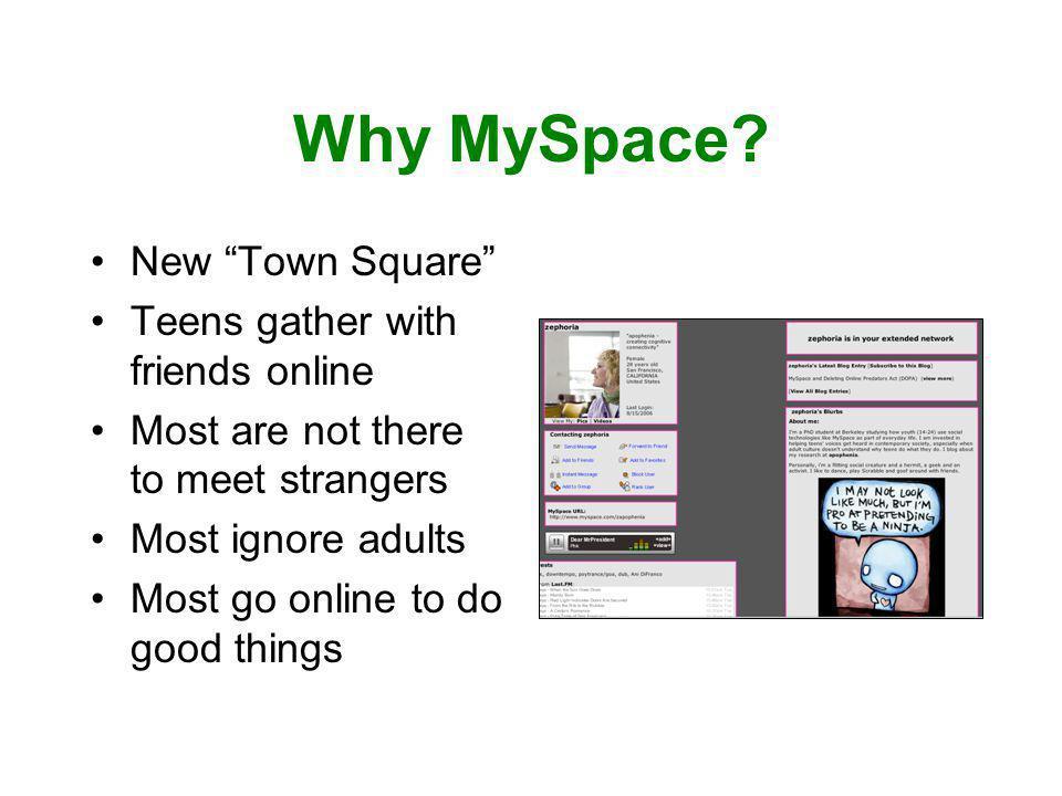 Why MySpace.