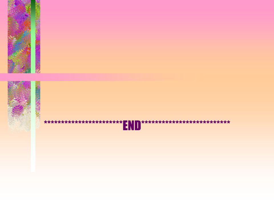 ***********************END**************************