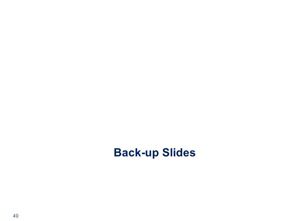 49 Back-up Slides