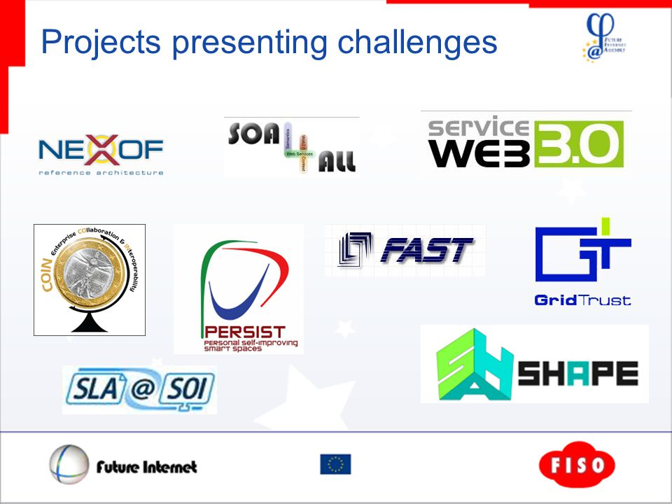 Projects presenting challenges