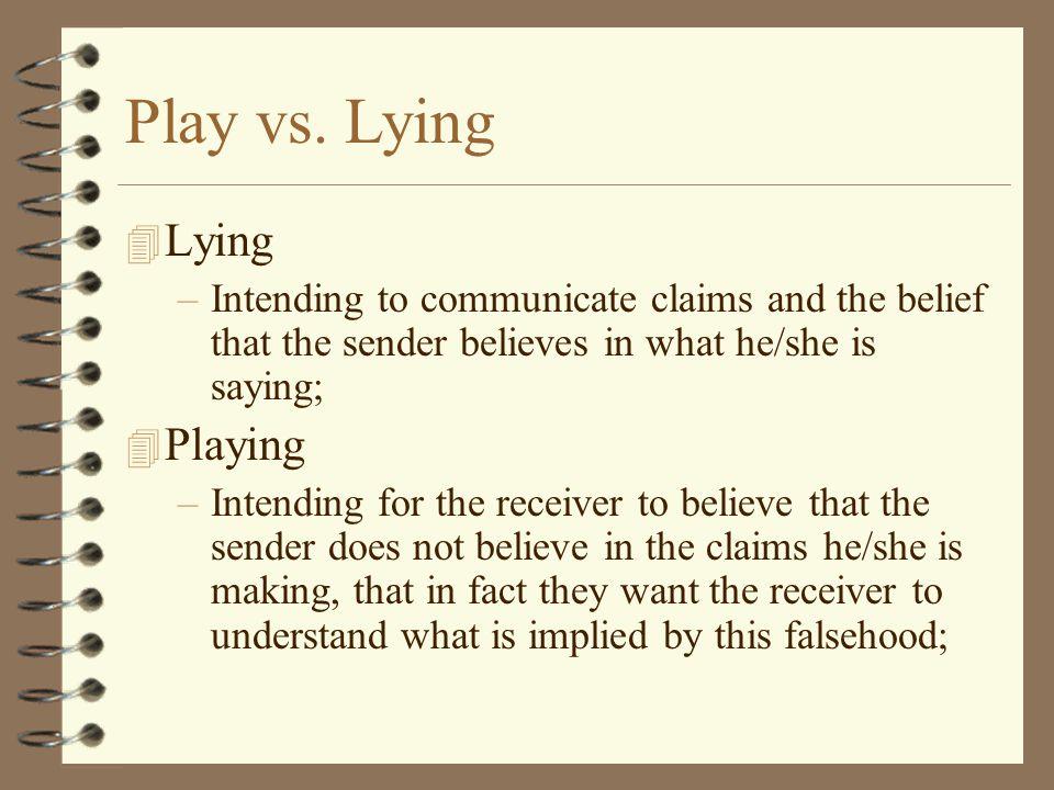Play vs.