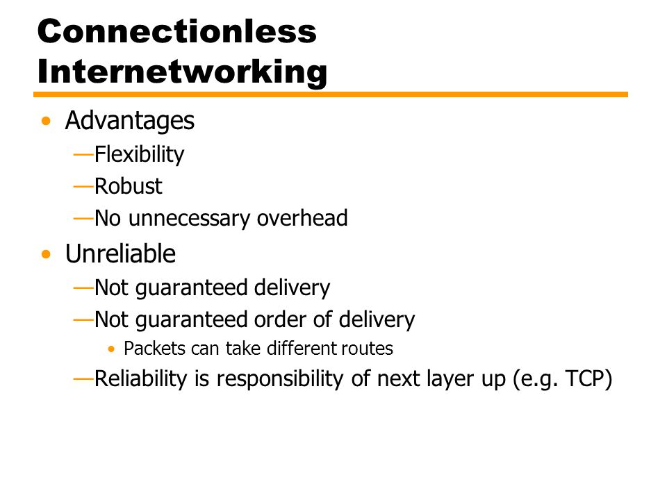 Figure 8.1 Internet Protocol Operation