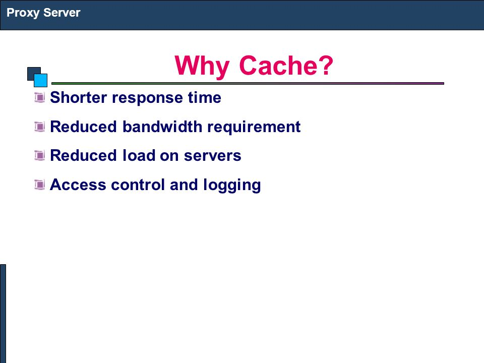 Why Cache.