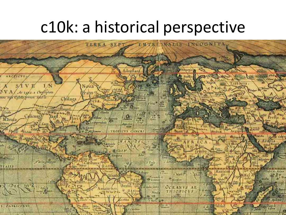 c10k: a historical perspective
