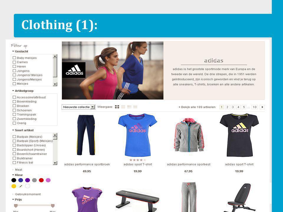 Clothing (1):