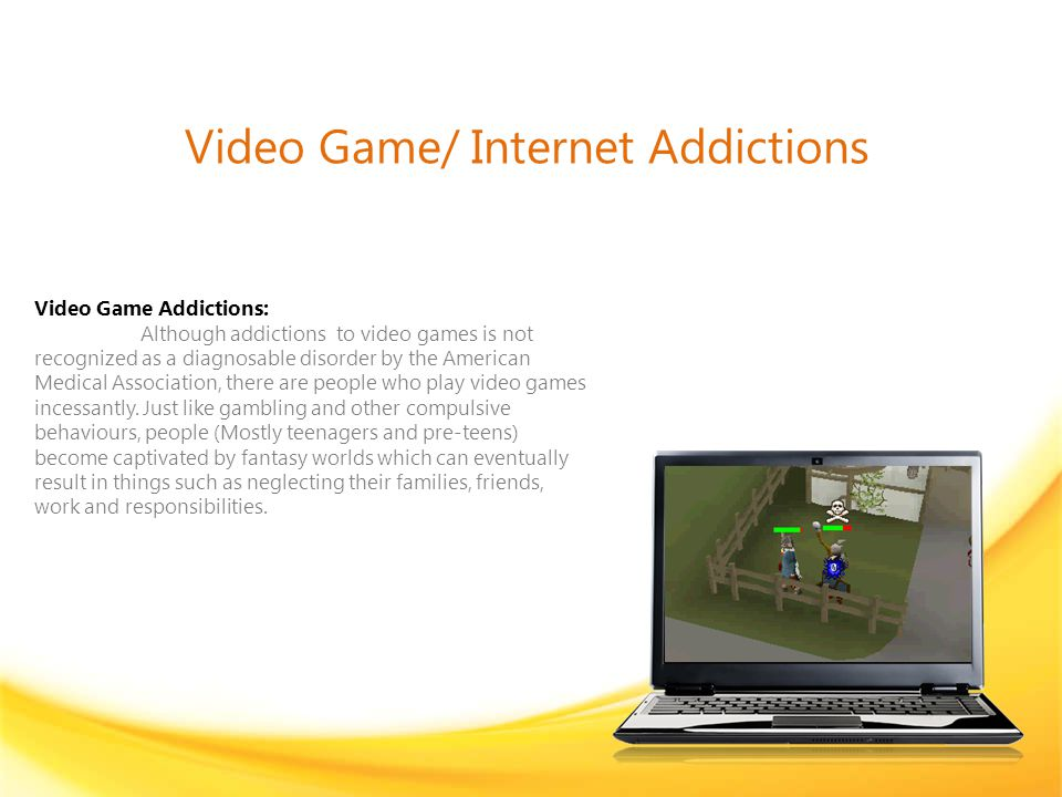 Internet Addictions It is difficult to estimate how widespread the problem is.