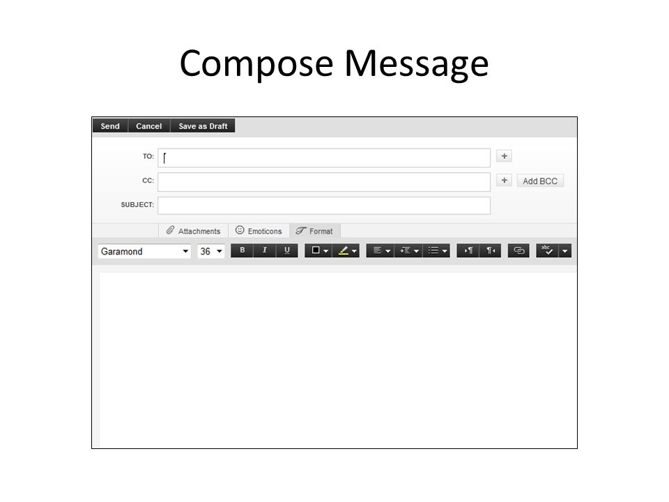 Compose Message