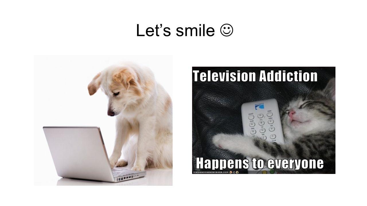 Lets smile
