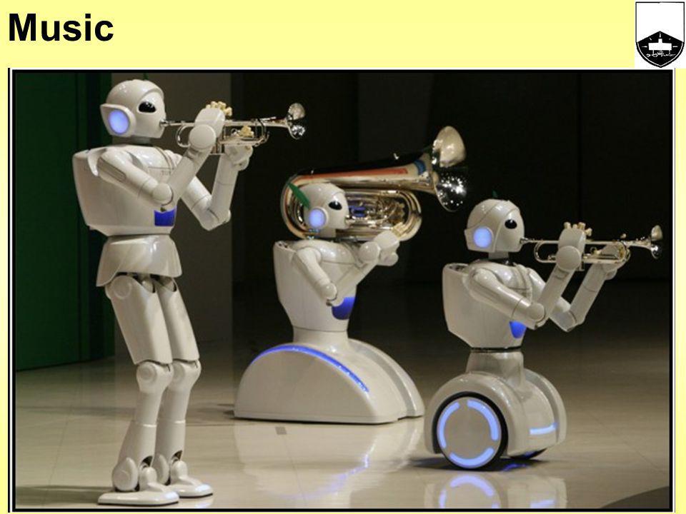 Robots and services eg Restaurants
