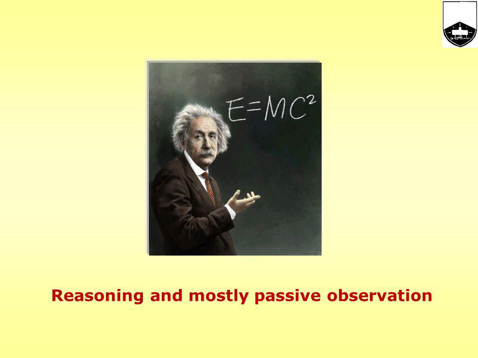 Science and Research: Development Started as: thought and observation.
