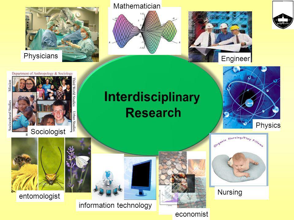 DisciplinaryMultidisciplinary TrandisciplinaryInterdisciplinary