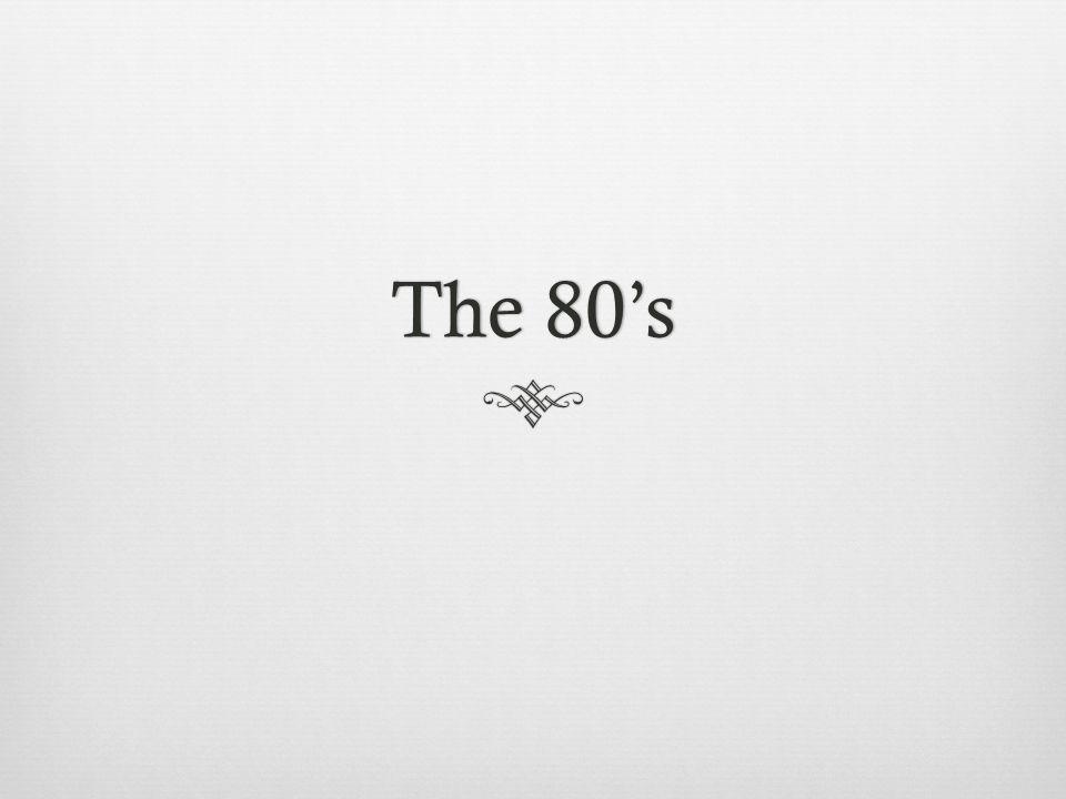 The 80sThe 80s