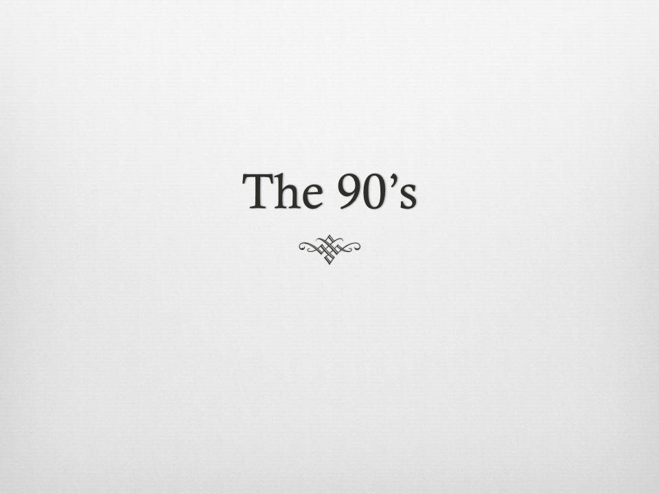 The 90sThe 90s