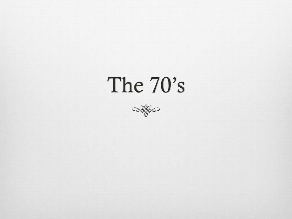 The 70sThe 70s