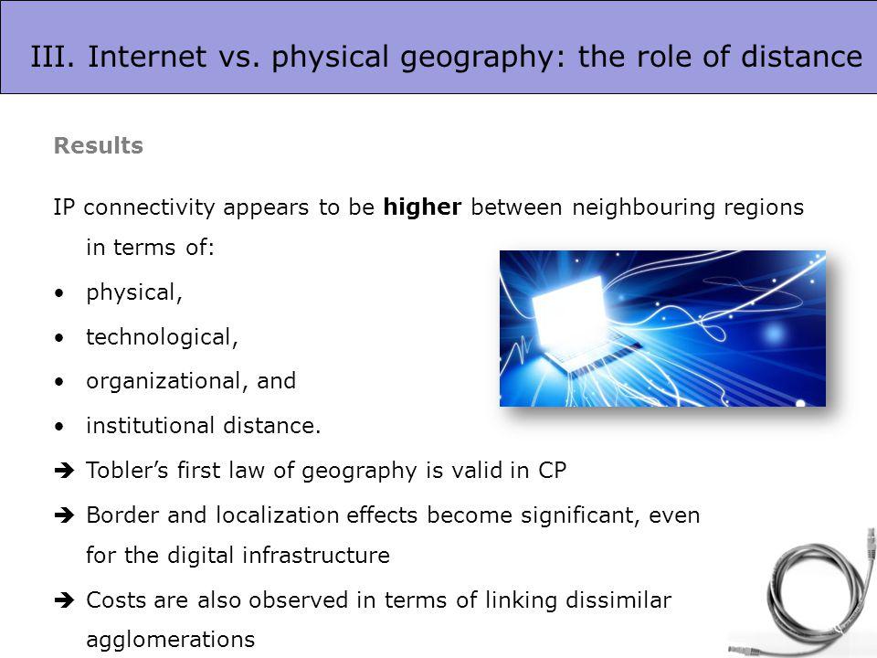 III. Internet vs.