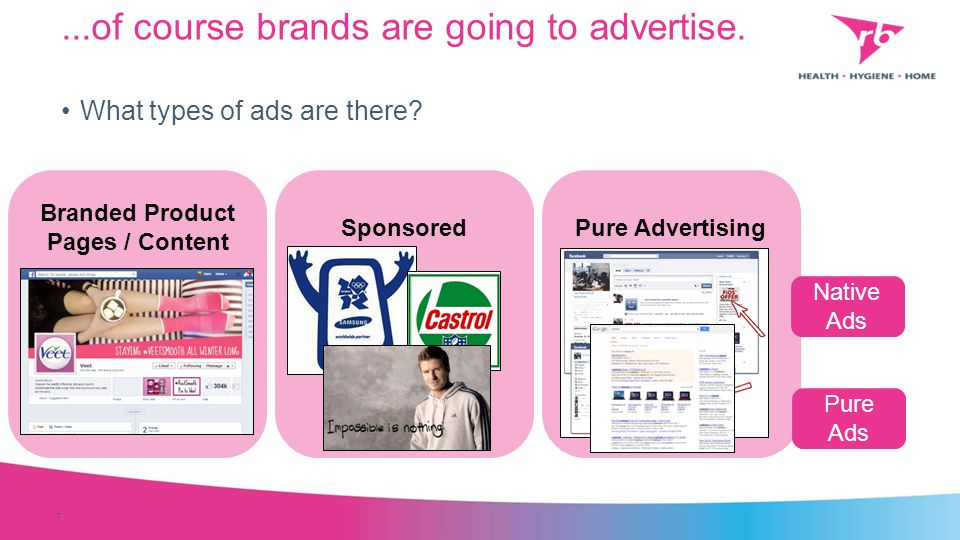 ...of course brands are going to advertise. 7 What types of ads are there.