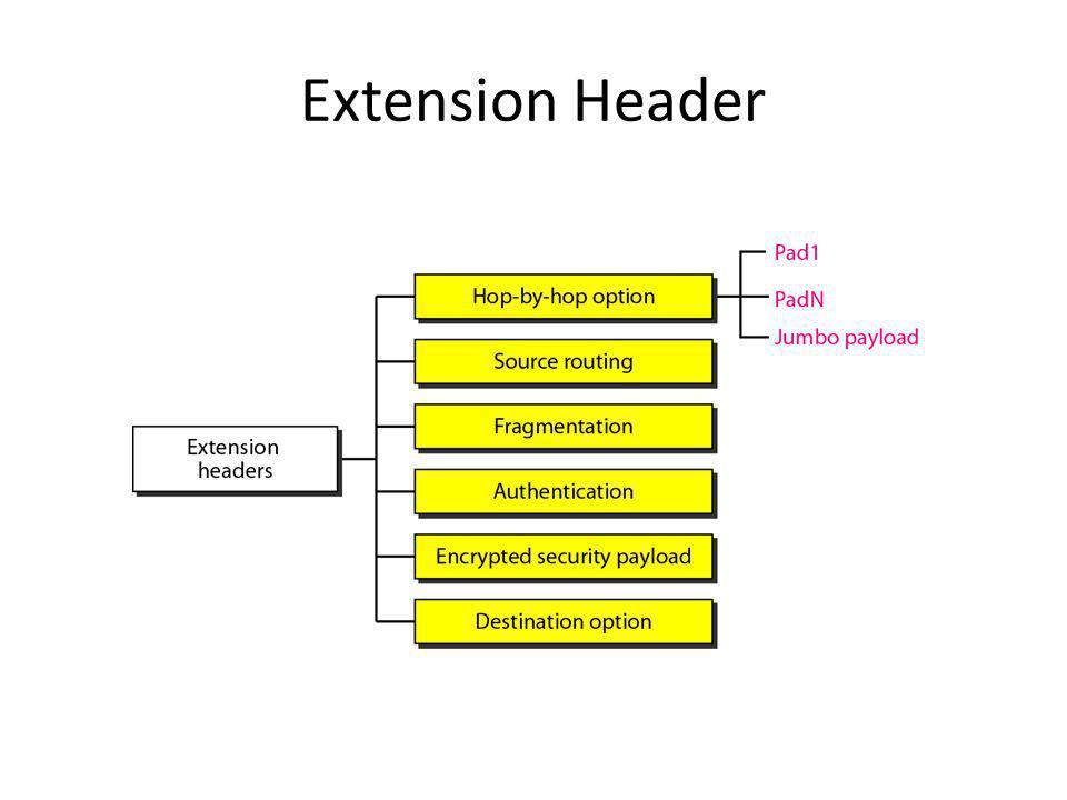 Extension Header