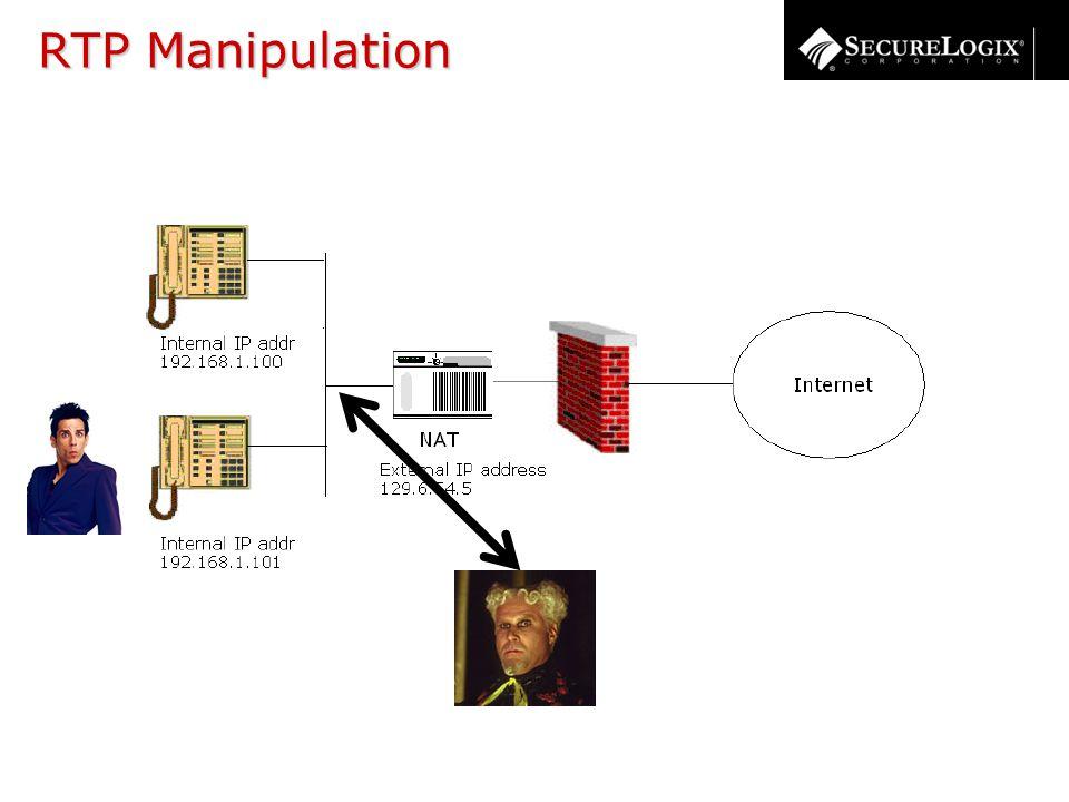 RTP Manipulation