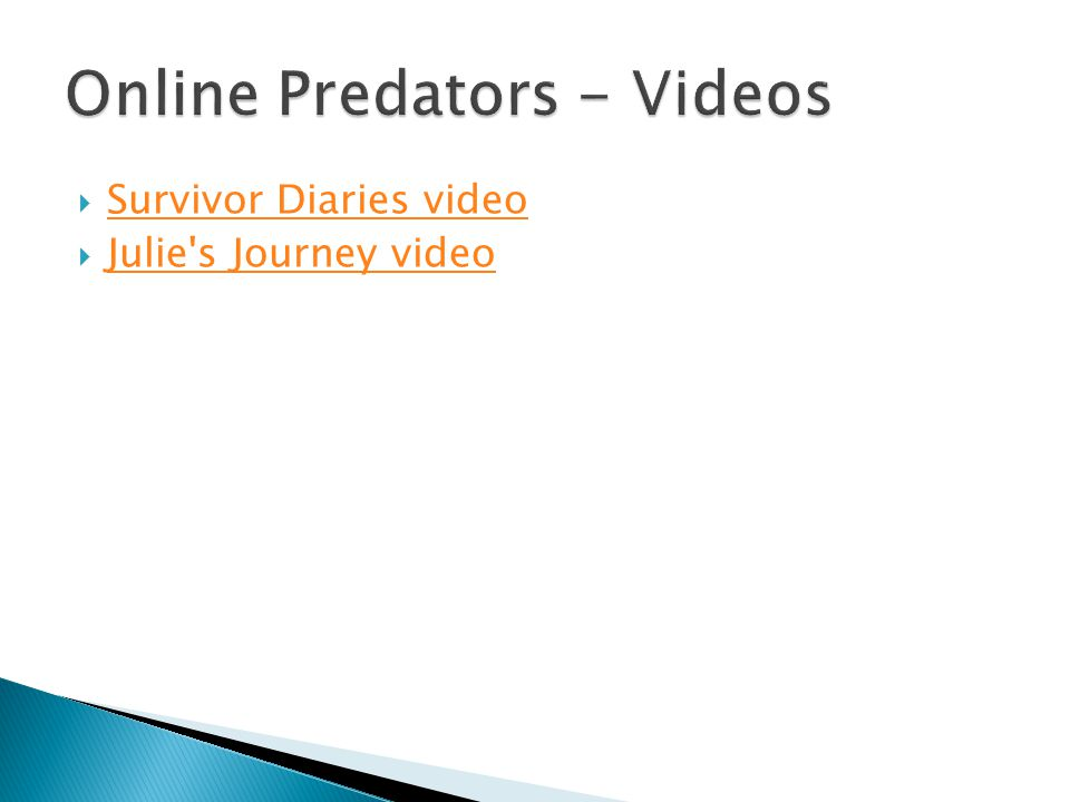 Survivor Diaries video Julie s Journey video