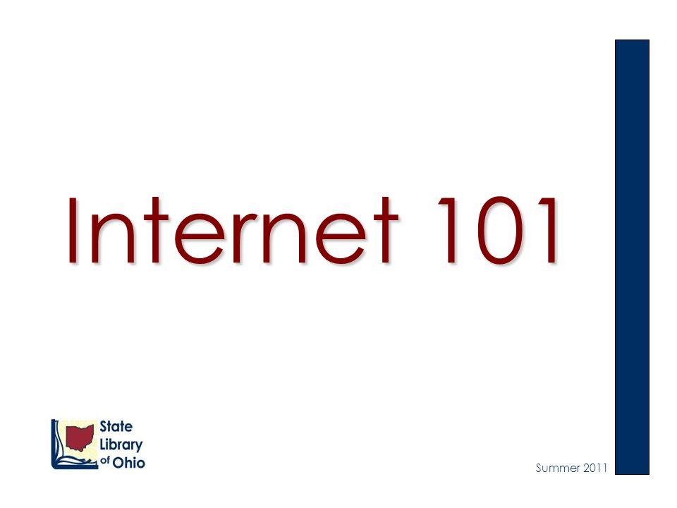 Internet 101 Summer 2011